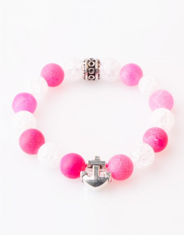 Armband / Bracelet Achat Chrystal Green