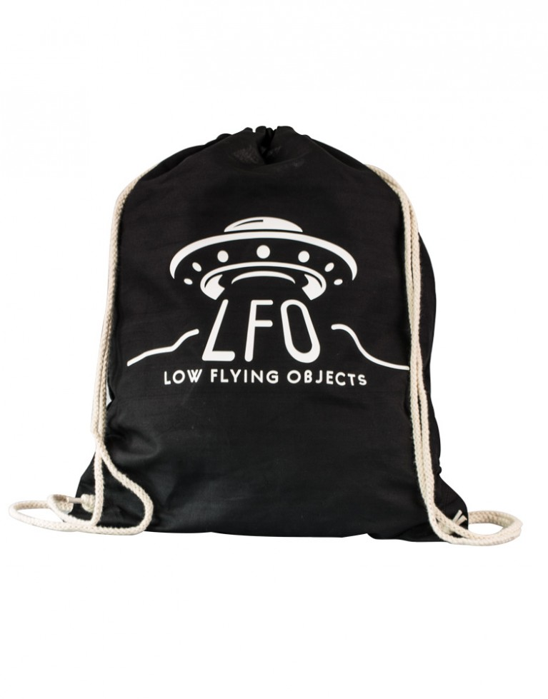 LFO Stuff Bag cotton black