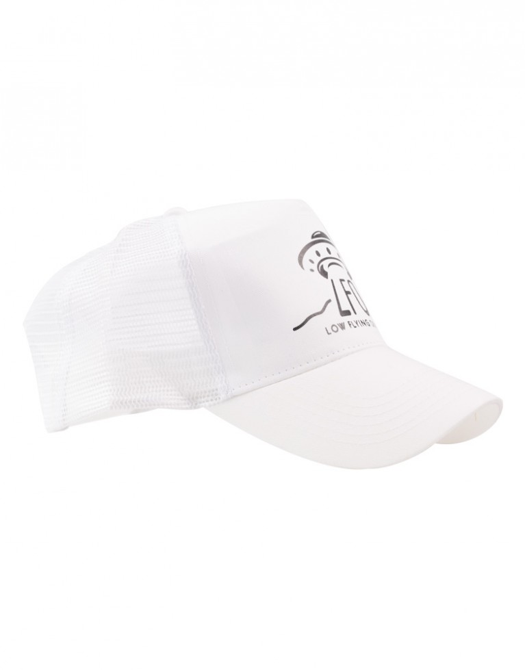 LFO Trucker Cap white / white / black