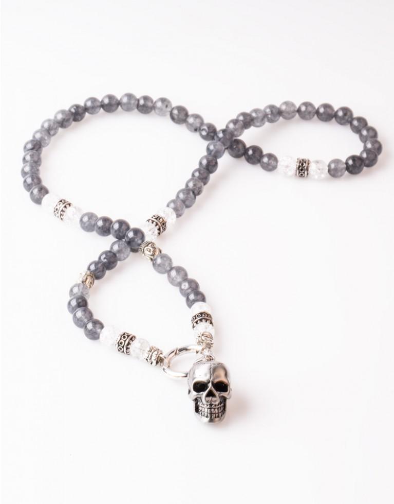Halskette / Necklace Silver Achat