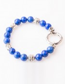 Armband / Bracelet Sapphire Buddha with Lock