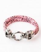Armband / Bracelet Leather Pink