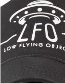 LFO Trucker Cap black / black / white